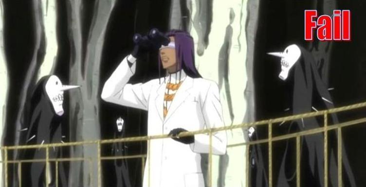 Errades de l'anime!! Bleach-fail